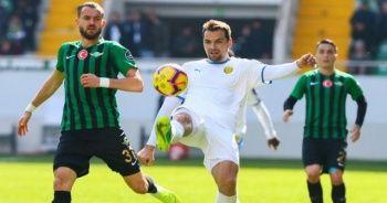Akhisarspor MKE Ankaragücü maçından gol sesi çıkmadı