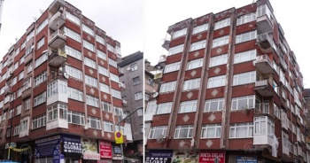 Bahçelievler'de 7 katlı bir bina boşaltıldı!