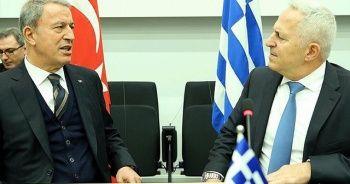 Bakan Akar'dan Yunanistan açıklaması: Sorunlarımızı barışçıl yollarla çözmeliyiz