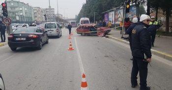 Balıkesir'de otobüs ile otomobil çarpıştı: 1 ölü