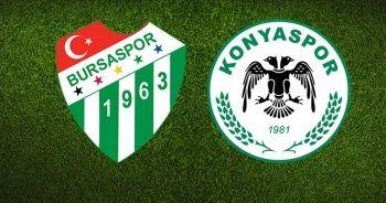 Bursaspor Atiker Konyaspor Maçı özeti İzle 0-0 | Bursa Konya Maçı Skoru Kaç Kaç bitti?
