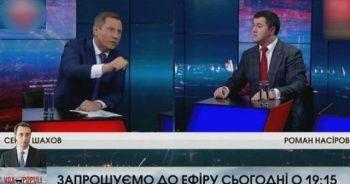 Canlı yayında şok! Ukrayna başkan adayının yüzüne su fırlattı