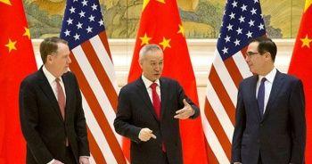 Çin ve ABD ticaret müzakerelerinde prensipte fikir birliği sağlandı