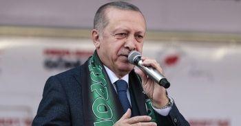 Cumhurbaşkanı Erdoğan'dan dikkat çeken 'logo' açıklaması