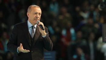 Erdoğan: 'Halde terör estirenlerin işini bitiririz'
