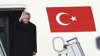 Erdoğan, Soçi Zİrvesi için Rusya'ya gitti