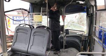Gaziantep'te halk otobüsü ile kamyon çarpıştı: 5 yaralı