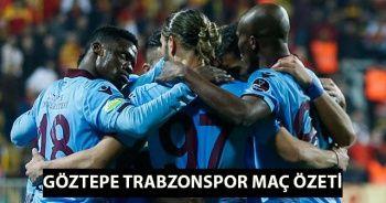 Göztepe Trabzonspor MAÇ ÖZETİ golleri İzle! Göztepe Trabzonspor Maç Özet Videosu