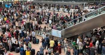 Hamburg Havalimanı'nda grev!