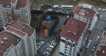 Helikopter enkazında çalışmalar sürüyor