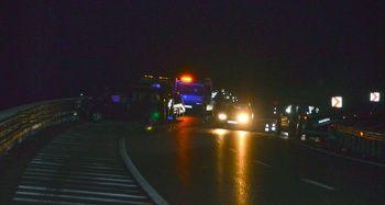 Kaza yapan araca başka otomobil çarptı: 6 yaralı