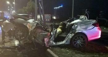 Milas'ta trafik kazası; 1 ağır yaralı