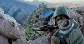 Milli Savunma Bakanlığı duyurdu: Teröristler çok sayıda mühimmatı bırakıp kaçtı