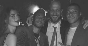 Neymar ile el ele tutuşan Türk kızı okları üstüne çekti