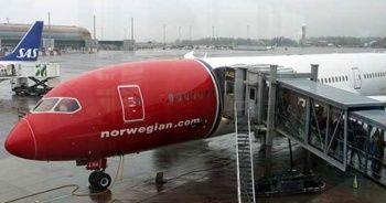 Norveç uçağında bomba alarmı