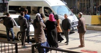 PKK operasyonlarında gözaltına alınanlar adliyeye sevk edildi