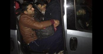 Polisin durdurduğu araç herkesi şoke etti