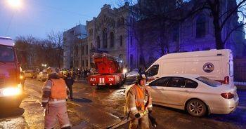 Rusya'da üniversite çöktü: 21 kişi enkaz altında kaldı