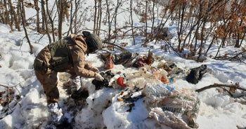 Şırnak'ta PKK'nın 8 sığınağı imha edildi