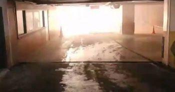 Son dakika: Şişli Belediye binasında yangın