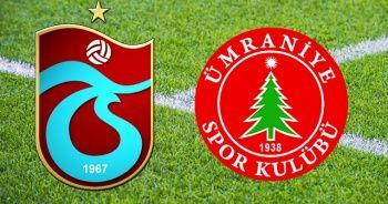 Trabzonspor - Ümraniyespor Maçı Şifresiz Canlı İZLE! TS Ümraniye Maçı Skor Kaç Kaç?