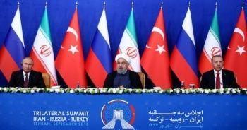 Üçlü Suriye Zirvesi başladı
