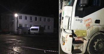Ukrayna'da bir kadın Türk tır şoförü 20 bıçak darbesiyle öldürdü