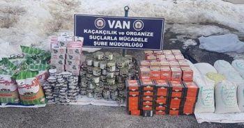 Van'da kaçakçılık operasyonu