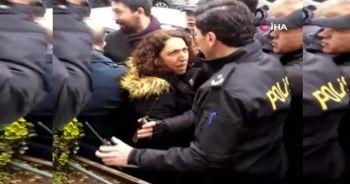 Van'da polisin kolunu ısıran HDP'li vekil, Diyarbakır'da polise zor anlar yaşattı