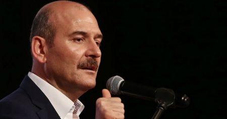 """Bakan Soylu: """"HDP'nin ön sıralarında oturanlar koca kitap devirmiş ama Kandil'deki sapıkların avukatlığını yapıyor"""""""
