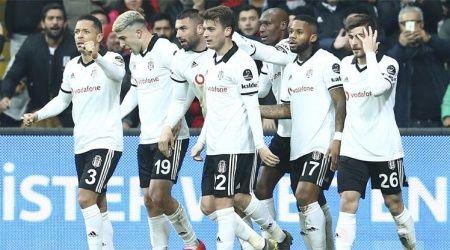 Beşiktaş Bursaspor'u 2-0 yendi