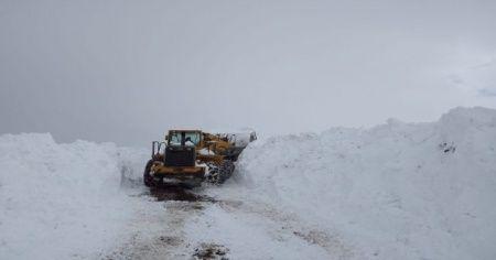 Bingöl'de kar nedeniyle kapanan 243 köy yolu açıldı