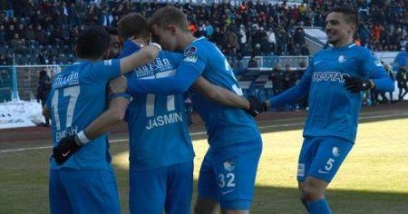 Bol gollü maçın galibi Erzurumspor