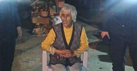 Çine'de kaybolan görme engelli kadın 8 saat sonra bulundu