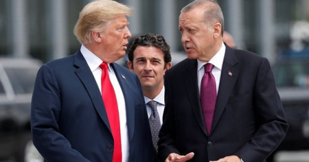 Cumhurbaşkanı Erdoğan ile Trump arasında kritik görüşme