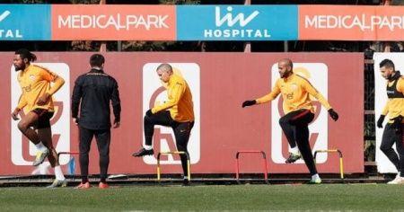 Galatasaray'ın Benfica maçı kadrosu belli oldu