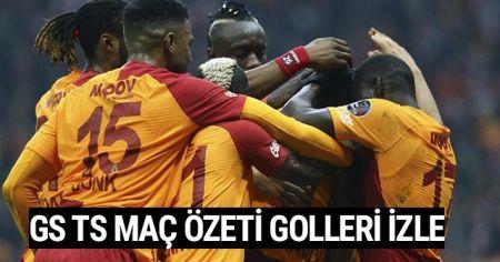 Galatasaray Trabzonspor Maç Özeti golleri İZLE! GS TS Maçı Özet Videosu golleri