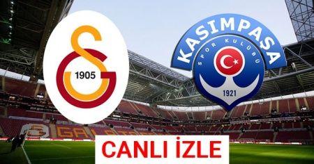 Kasımpaşa - Galatasaray maçı canlı izle beın | Kasımpaşa Galatasaray maçı canlı skor kaç kaç?