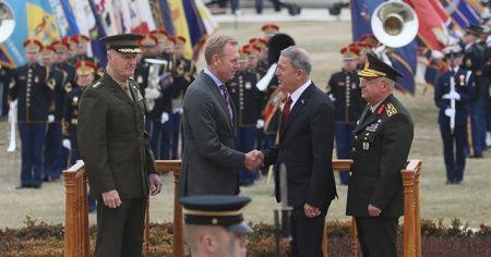 Milli Savunma Bakanı Akar, Pentagon'da