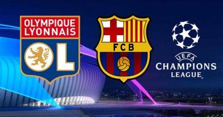 Olympique Lyon Barcelona maçı canlı izle! Lyon Barcelona maçını şifresiz veren kanallar! Az TV İdman TV CBC Sport Beinsports canlı izleme