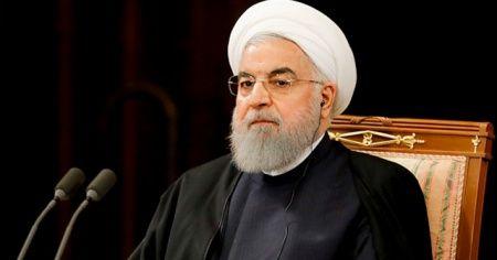 Ruhani: İran ABD ve müttefiklerinin baskıları karşısında pes etmeyecek