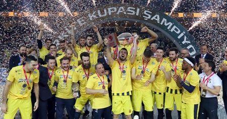 Türkiye Kupası 6. kez Fenerbahçe'nin