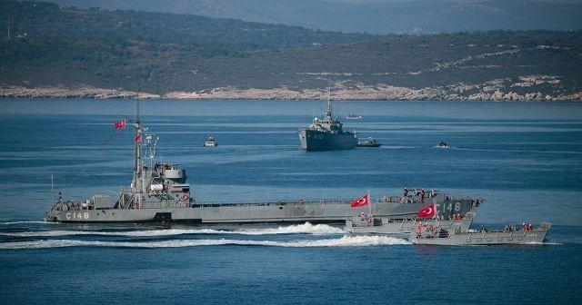 'Mavi Vatan 2019 Tatbikatı'nda denizaltı kurtarma safhası tamamlandı