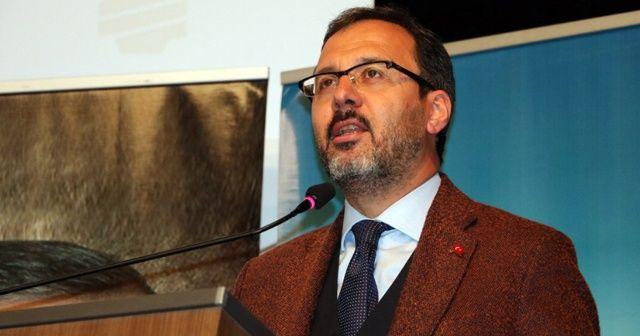 """""""Türkiye'de spor tesisleşmesi, Avrupa ve dünyanın ilerisinde"""""""