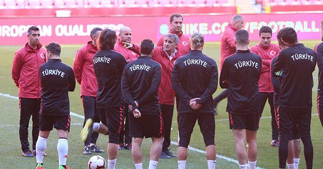A Milli Takım, Moldova maçı hazırlıklarını tamamladı