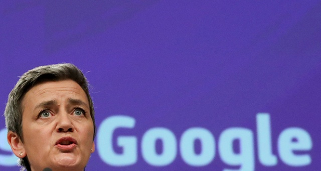 AB, Google'a 1.49 milyar avro ceza kesti