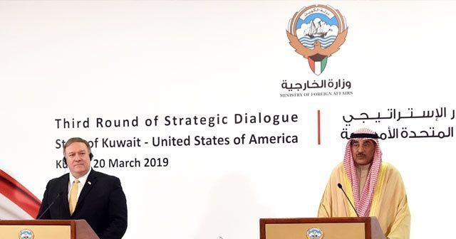 ABD Dışişleri Bakanı Pompeo Kuveyt'te