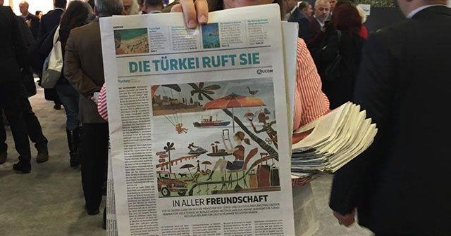 Almanları Türkiye'de tatil yapmaya çağırdı!