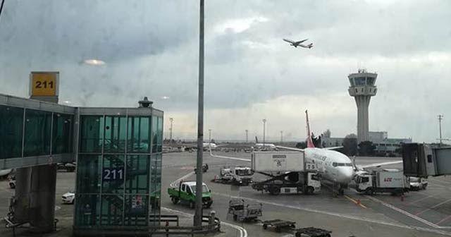 Atatürk Havalimanı'nda leylek alarmı! Pilotlar birbirlerini uyarmaya başladı...