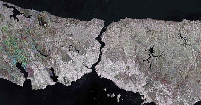 Avrupa Uzay Ajansı'ndan İstanbul paylaşımı